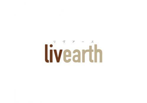 リビングプラザさま livearth ロゴマーク